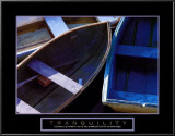 Tranquility: Three Boats Art
