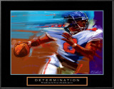 Determination: Quarterback Poster