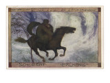Schubert's 'Erlkonig' (Goethe) Giclee Print