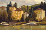 Waterfront Village Prints by Howard Carr
