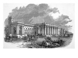 The Great Central Railway Station at Newcastle Giclee Print