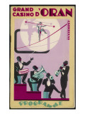 The Jazz Band of the Grand Casino D'Oran, Algeria Giclee Print