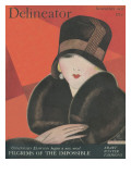 The Delineator November 1927 Giclee Print