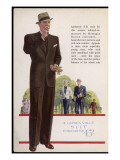Tailored-To-Measure by Montague Burton Craftsmen Giclee Print