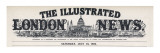 The Masthead of the Illustrated London News, Which Appeared on the First Inside Page Giclee Print