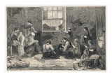 Tailors Work in Slum Giclee Print