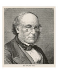 Sir Rowland Hill English Postal Reformer; Introduced the Penny Post Giclee Print by Philip Talmage