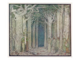 The Oak Addresses the Spirits of the Trees Giclee Print