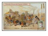 The Buffalo Dance of the Mandan People Giclee Print