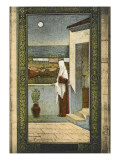 Saint Genevieve in Paris Giclee Print