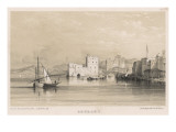 The Harbour of Beirut Seen from the Sea Giclee Print