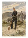 The Cameronians Scottish Rifles Giclee Print