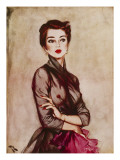 September, 1953 Giclee Print by David Wright