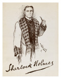 Sherlock Holmes Giclee Print by Vanessa Wagstaff