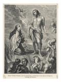 Saint Teresa of Avila in a Vision Giclee Print