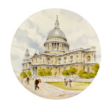 St Paul's Cathedral - London Giclee Print by Malcolm Greensmith