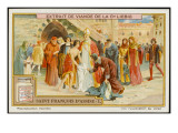 Saint Francis of Assisi Takes Off His Rich Clothing and Gives it to the Poor Giclee Print