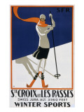 Sainte-Croix Et Les Rasses Giclee Print