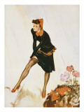 Show a Leg Giclee Print by David Wright