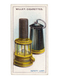 Sir Humphrey Davy's Safety Lamp, Invented in 1815 for Use in Coal Mines Giclee Print