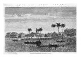 Paramaribo, Suriname, Giclee Print