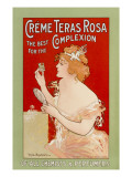 Teras Rosa Advert Giclee Print