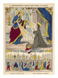 Saint Marguerite (Marie Alacoque) the Saint Who Introduced the Cult of the Sacred Heart Giclee Print