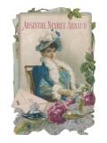 Showcard for Absinthe Neyret Arnaud Giclee Print