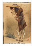 The Famed Victorian Actor Henry Irving in the Role of King Richard Iii Giclee Print