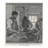 Tailor's Workshop/1890 Giclee Print