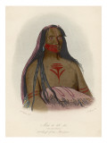 Second Chief of the Mandan People Giclee Print