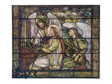 Stained Glass Cecilia Giclee Print