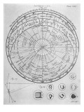 Star Map Northern Hemi Giclee Print