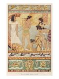 Sea Traders from Ancient Crete Giclee Print