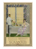 Scranton Curtains 1919 Giclee Print