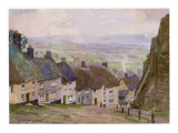 Shaftesbury, Dorset: Gold Hill Giclee Print