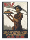 Salvation Army WWI Giclee Print