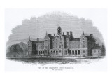 St Mary Abbots Workhouse, Marloes Road, Kensington, London Giclee Print by Peter Higginbotham