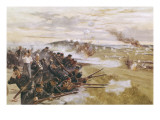 The Defence of Liege Giclee Print by Robert Hunt