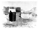 The Magnetic Hut, National Antarctic Expedition, 1902 Giclee Print