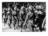 Sikhs on the March Giclee Print