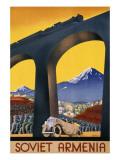 Soviet Armenia Giclee Print