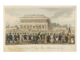 The Great St Leger Race at Doncaster Giclee Print