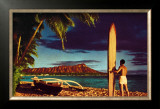 Outrigger and Diamond Head Art by Stewart Fern