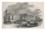 The Great Central Railway Station at Newcastle- Upon- Tyne Giclee Print