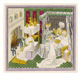 Saint Edmund His Birth in Nuremberg Giclee Print