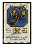 Scorpio the Scorpion 23 October - 21 November Giclee Print