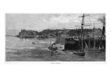 The Harbour, Port Darwin Giclee Print