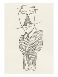 Sir Arthur Conan Doyle Writer Giclee Print