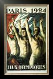 Jeux Olympiques, Paris, 1924 Posters by Jean Droit